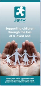 Grief Support leaflet cover shadow