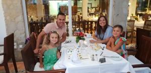 Dawn, Mike, Antonia & Francesca